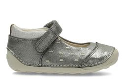 Clarks Girls 1st Shoes & Prewalkers - Metallic - 2740/07G LITTLE LOU