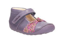 Clarks Girls 1st Shoes & Prewalkers - Purple - 0603/07G LITTLE NIA