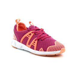 Clarks Girls Trainers - Pink multi - 3005/36F LUMINOUS GLO