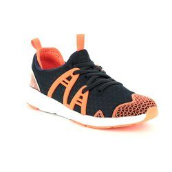 Clarks Boys Trainers - Navy multi - 3038/07G LUMINOUS RUN