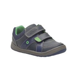 Clarks Boys Shoes - Navy - 0960/47G MALTBY POP INF
