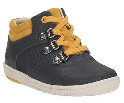 Clarks 1st Shoes & Prewalkers - Navy - 1051/56F MAXI SQUARE FS