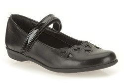 Clarks Girls Shoes - Black - 5880/66F ORRA MIMI INF