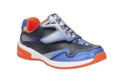 Clarks Boys Trainers - Navy multi - 1921/66F PIPER BUZZ INF
