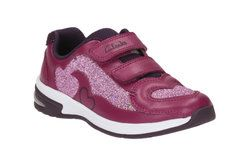 Clarks Girls Trainers & Canvas - Pink - 1923/07G PIPER CHAT INF
