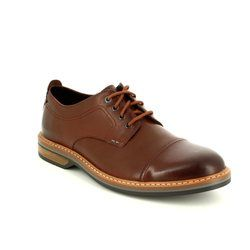 Clarks Smart Shoes - Tan - 2738/67G PITNEY CAP