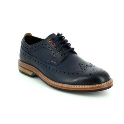 Clarks Brogues - Blue - 2057/47G PITNEY LIMIT