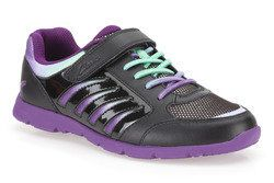 Clarks Girls Trainers - Black multi - 5727/85E PRANCE WIN INF