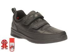 Clarks Boys Shoes - Black - 1892/75E REFLECTACE INF