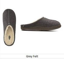 Clarks Slippers & Mules - Grey - 3046/77G RELAXED STYLE