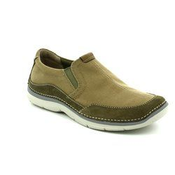 Clarks Trainers - Olive - 1417/37G RIPTON FREE