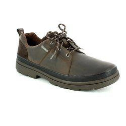 Clarks Shoes - Dark brown - 2834/97G RUSHWAY LACE GORE-TEX