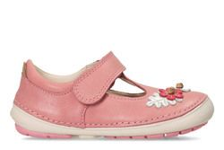Clarks 1st Shoes & Prewalkers - Pink - 3363/37G SOFTLY BLOSSUM