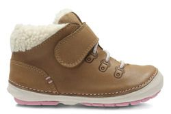 Clarks 1st Shoes & Prewalkers - Tan - 2741/06F SOFTLY BOO FST