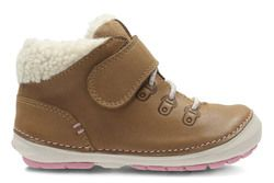 Clarks 1st Shoes & Prewalkers - Tan - 2741/07G SOFTLY BOO FST