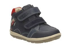 Clarks Boys 1st Shoes & Prewalkers - Navy - 1900/66F SOFTLY BOP FST