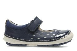 Clarks Girls 1st Shoes & Prewalkers - Navy - 2740/46F SOFTLY LOU FST
