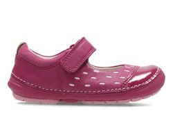 Clarks 1st Shoes & Prewalkers - Pink - 2740/16F SOFTLY LOU FST