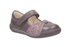 Clarks 1st Shoes & Prewalkers - Purple - 0603/37G SOFTLY NIA FST