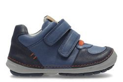 Clarks Boys 1st Shoes & Prewalkers - Navy - 2931/07G SOFTLY POW FST
