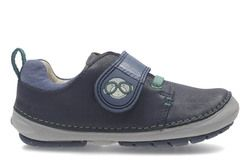Clarks Boys 1st Shoes & Prewalkers - Navy - 2736/36F SOFTLY SID FST