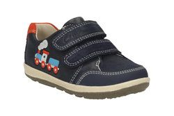Clarks 1st Shoes & Prewalkers - Navy - 1901/06F SOFTLY TOM FST
