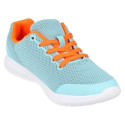 Clarks Girls Trainers - Pale blue - 1492/56F SPRINT ZONE JN