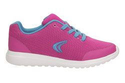 Clarks Girls Trainers - Pink - 1492/86F SPRINT ZONE JN