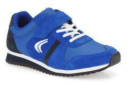 Clarks Boys Trainers - Blue - 5729/86F SUPER JOG INF