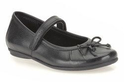Clarks Girls Shoes - Black - 5928/25E TASHA ALLY INF