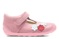 Clarks 1st Shoes & Prewalkers - Pink - 3363/26F TINY BLOSSUM
