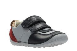 Clarks 1st Shoes & Prewalkers - Blue multi - 2656/67G TINY CAP