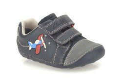 Clarks 1st Shoes & Prewalkers - Navy - 0117/67G TINY JET