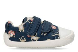Clarks 1st Shoes & Prewalkers - Blue multi - 3359/86F TINY PEBBLE