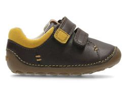 Clarks 1st Shoes & Prewalkers - Brown - 2750/66F TINY TOBY