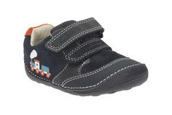 Clarks 1st Shoes & Prewalkers - Navy - 1901/86F TINY TOM