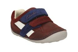 Clarks 1st Shoes & Prewalkers - Brown - 2053/87G TINY ZAKK