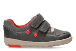 Clarks 1st Shoes & Prewalkers - Grey - 3309/97G TOLBY BOO