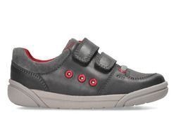 Clarks Boys Shoes - Grey - 3310/47G TOLBY BUZZ