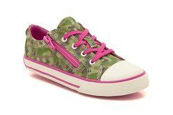 Clarks Girls Trainers - Green multi - 5886/37G TOP GAME INF