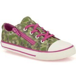 Clarks Girls Trainers - Green multi - 5924/26F TOP GAME JNR