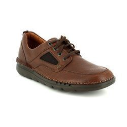 Clarks Casual Shoes - Brown - 2828/97G UNNATURE TIME