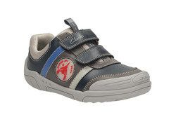 Clarks Boys Shoes - Navy - 0502/46F WING TIME
