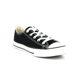 Converse Girls Trainers - Black - 3J235C Kids Chuck Taylor All Star OX Classic