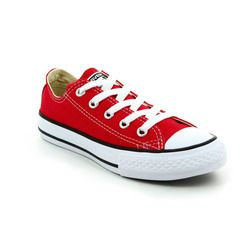 Converse Boys Trainers - Red - 3J236C Chuck Taylor All Star OX Youth