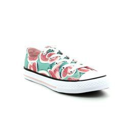 Converse Girls Trainers - Pink - 656027C/690 Chuck Taylor All Star OX Vapor