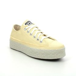 Converse Trainers - Yellow - 570772C All Star Espadrille