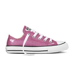 Converse Girls Trainers - Pink - 660047C ALL STAR OX JUNIOR
