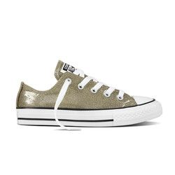 Converse Girls Trainers - Gold - 660046C ALL STAR OX YOUTH