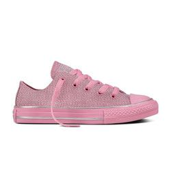 Converse Girls Trainers - Pink multi - 659961C ALL STAR OX JNR